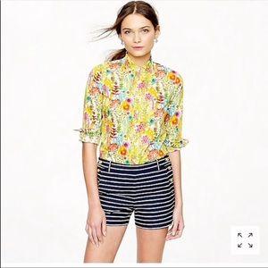 Liberty for J. Crew Perfect Shirt Tresco Floral